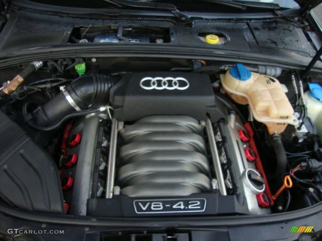 2005 Audi S4 4 2 Quattro Sedan 4 2 Liter Dohc 40 Valve V8