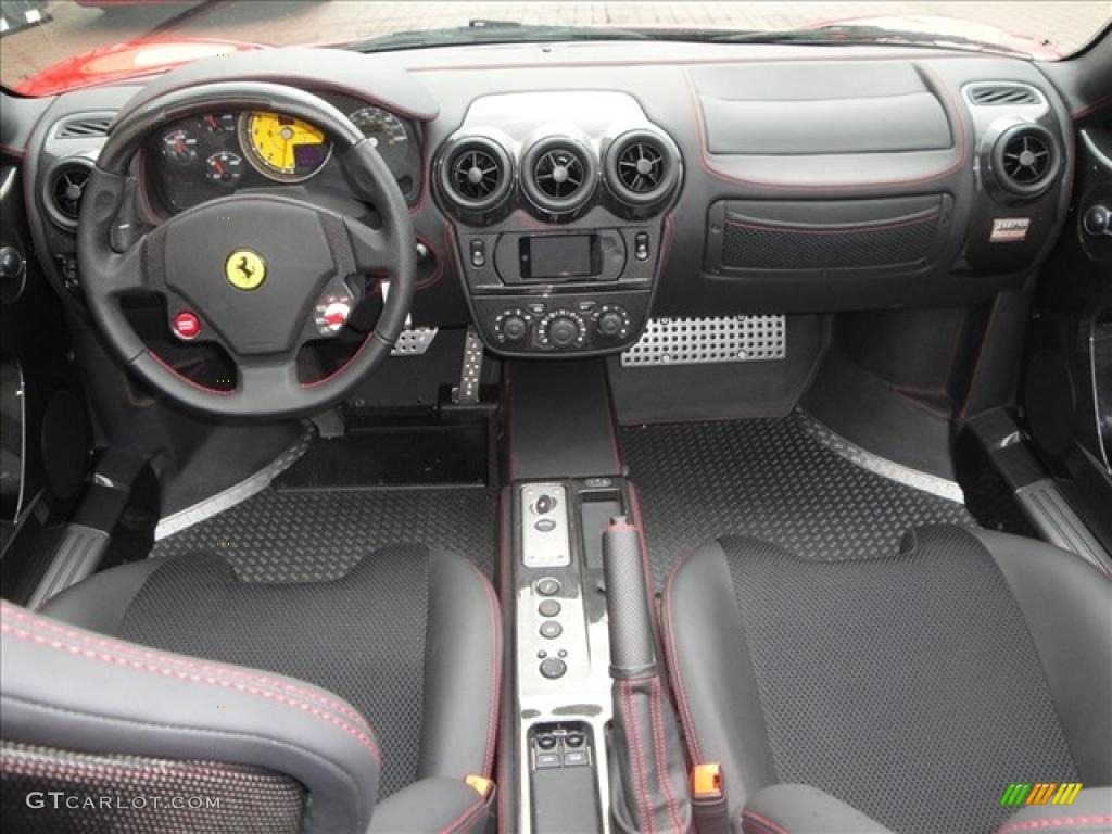 Black Interior 2009 Ferrari