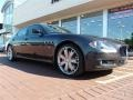 2010 Grigio Granito (Dark Grey Metallic) Maserati Quattroporte Sport GT S  photo #2
