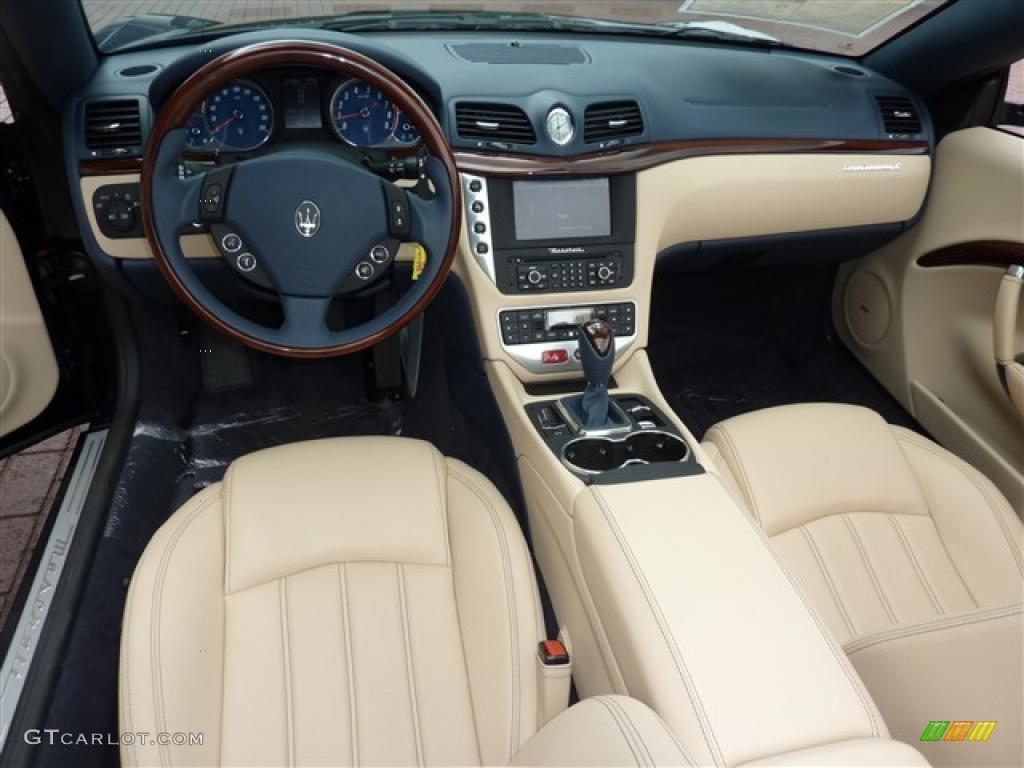 2010 maserati granturismo convertible grancabrio interior - Maserati granturismo red interior ...