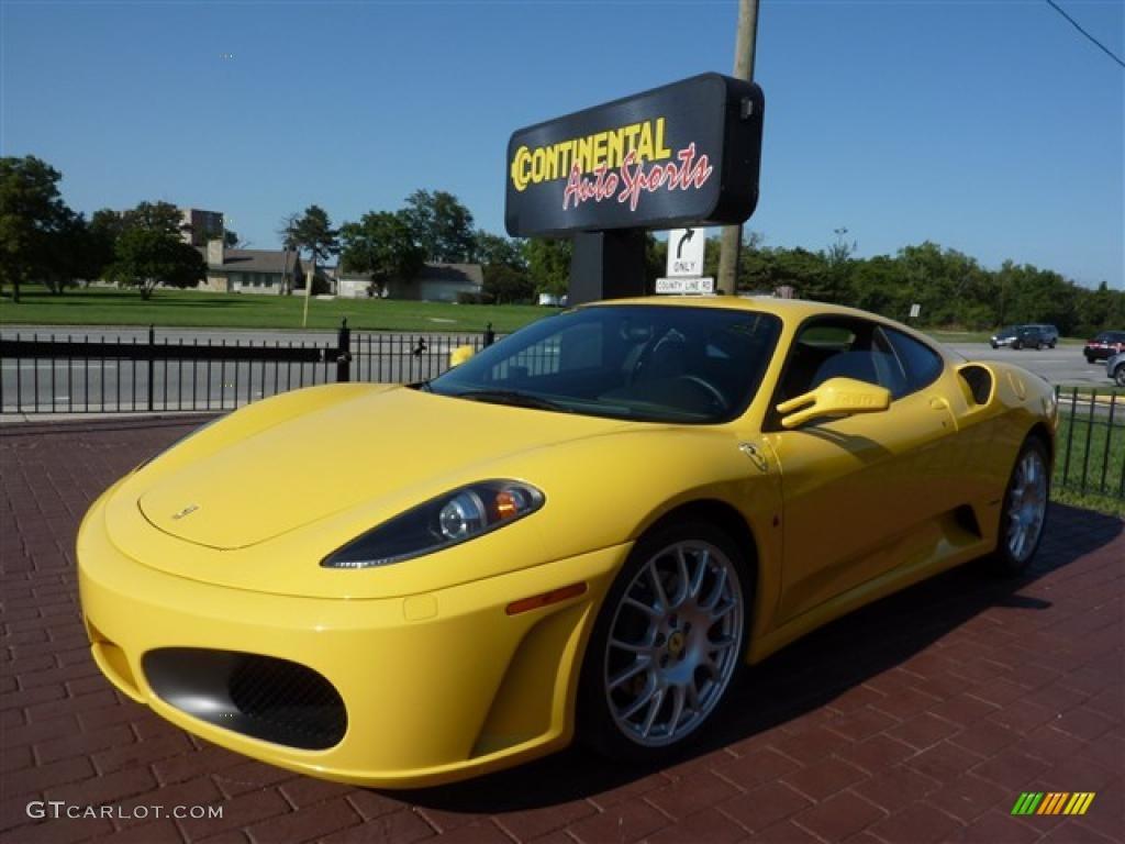 2005 yellow ferrari f430 coupe f1 37423431 gtcarlot car 2005 f430 coupe f1 yellow black photo 1 vanachro Images