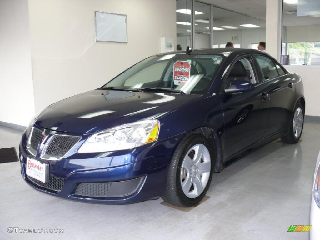 2010 Midnight Blue Metallic Pontiac G6 Sedan 37423739