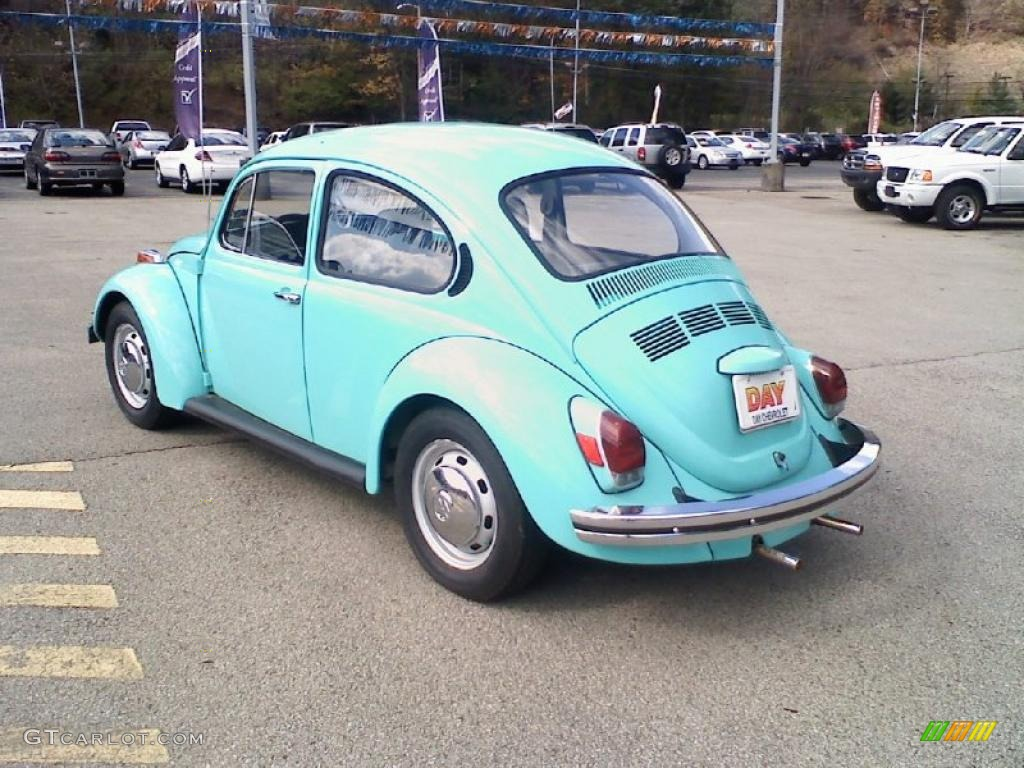 1972 Beetle Coupe Light Blue Black Photo 7