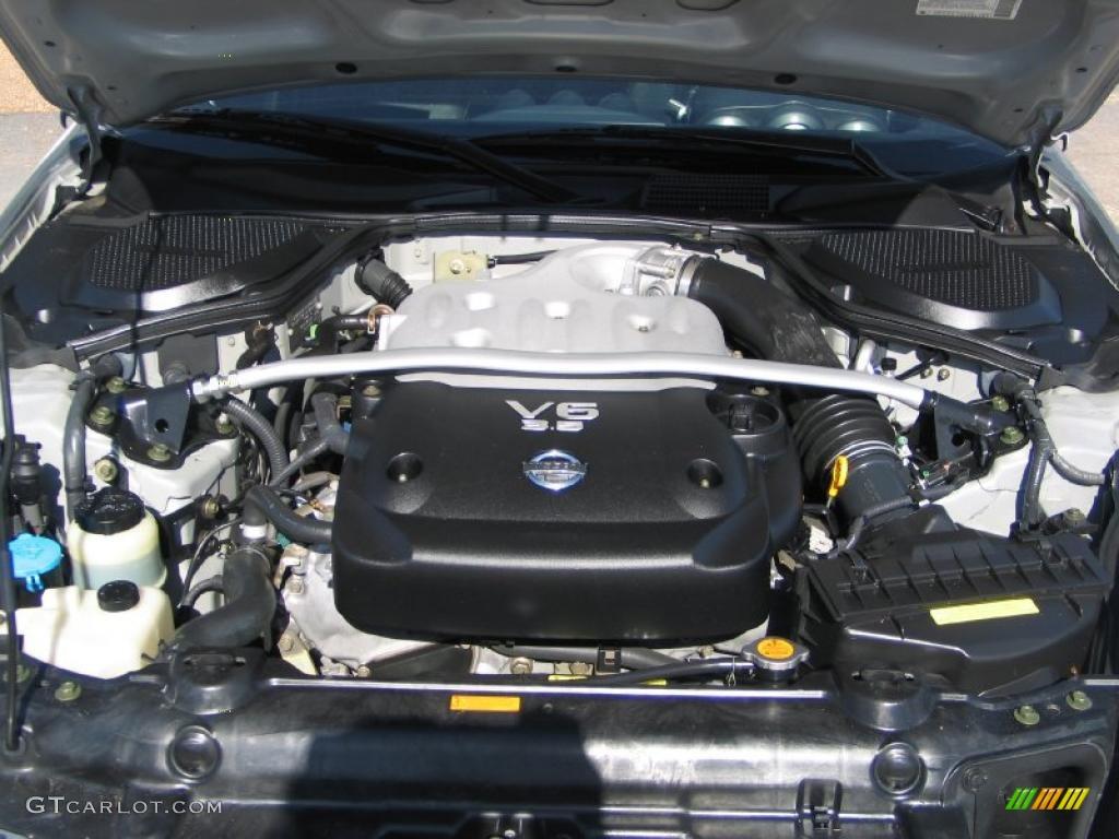 2003 Nissan 350z Touring Coupe 3 5 Liter Dohc 24 Valve V6