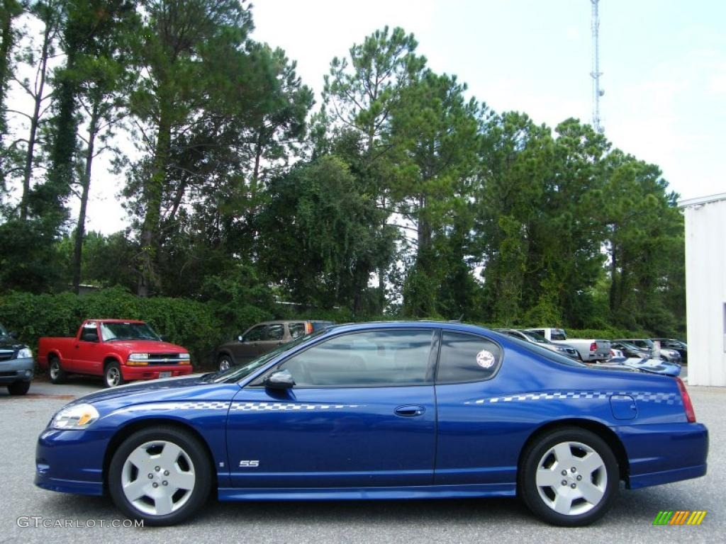 Laser blue metallic 2007 chevrolet monte carlo ss exterior photo 37496424 gtcarlot com