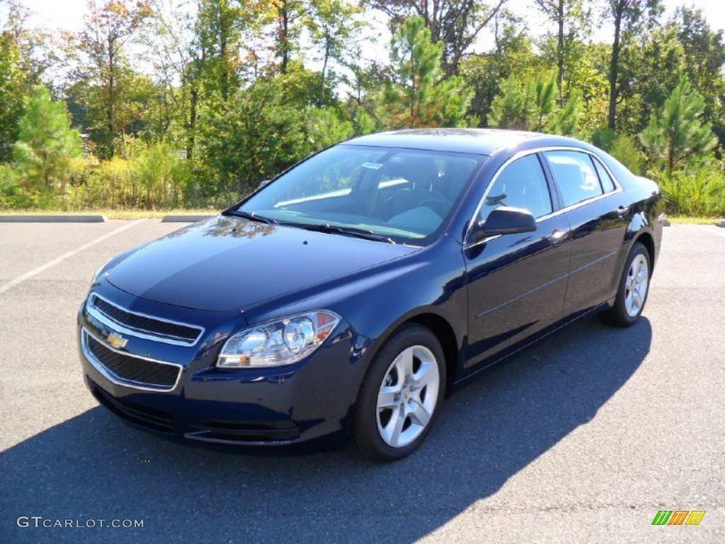 2010 imperial blue metallic chevrolet malibu ls sedan - 2010 chevy malibu exterior colors ...