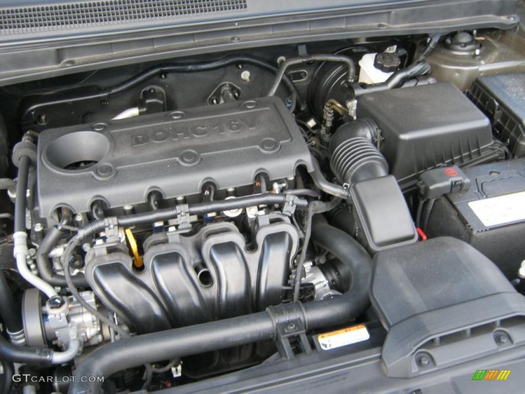 2009 kia rondo lx 2 4 liter dohc 16 valve 4 cylinder. Black Bedroom Furniture Sets. Home Design Ideas