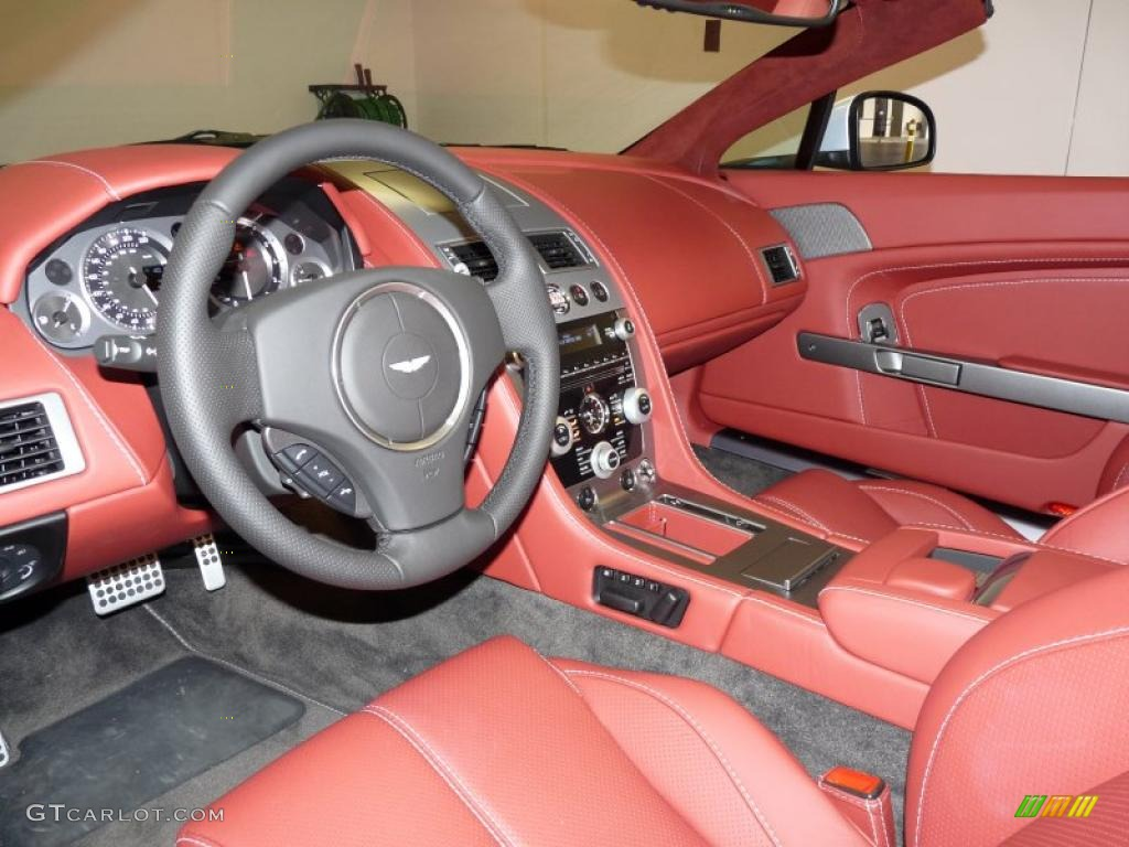 Chancellor Red Interior 2011 Aston Martin V8 Vantage Roadster Photo 37523100 Gtcarlot Com