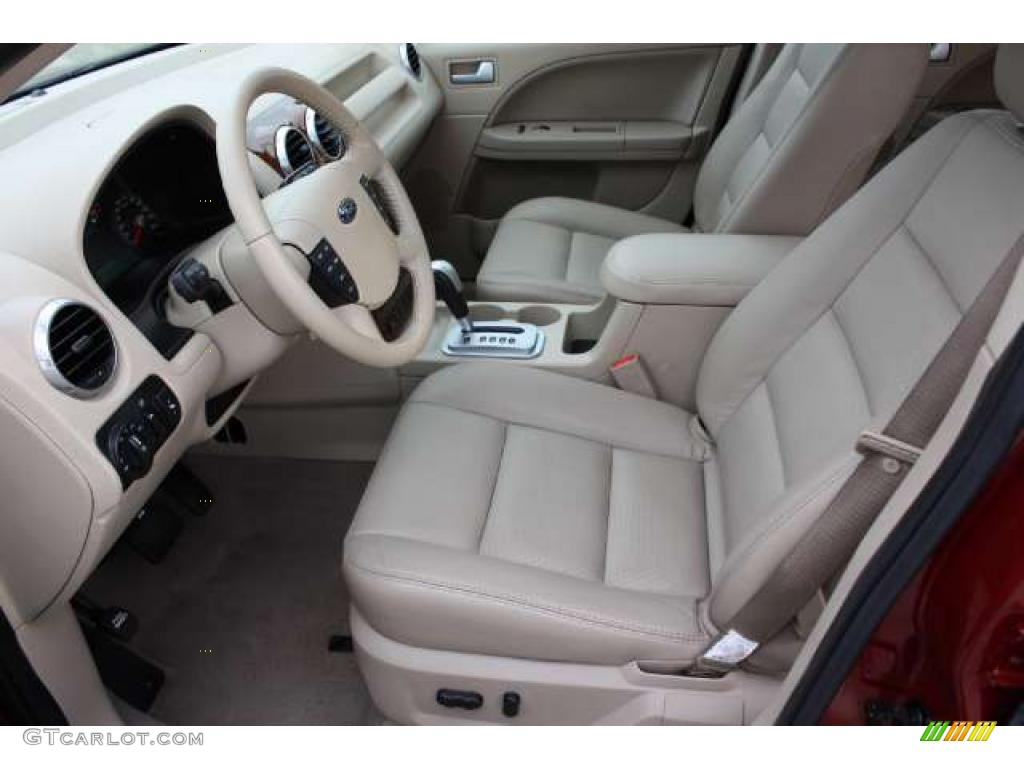 Pebble Beige Interior 2006 Ford Freestyle Limited Awd Photo 37532774
