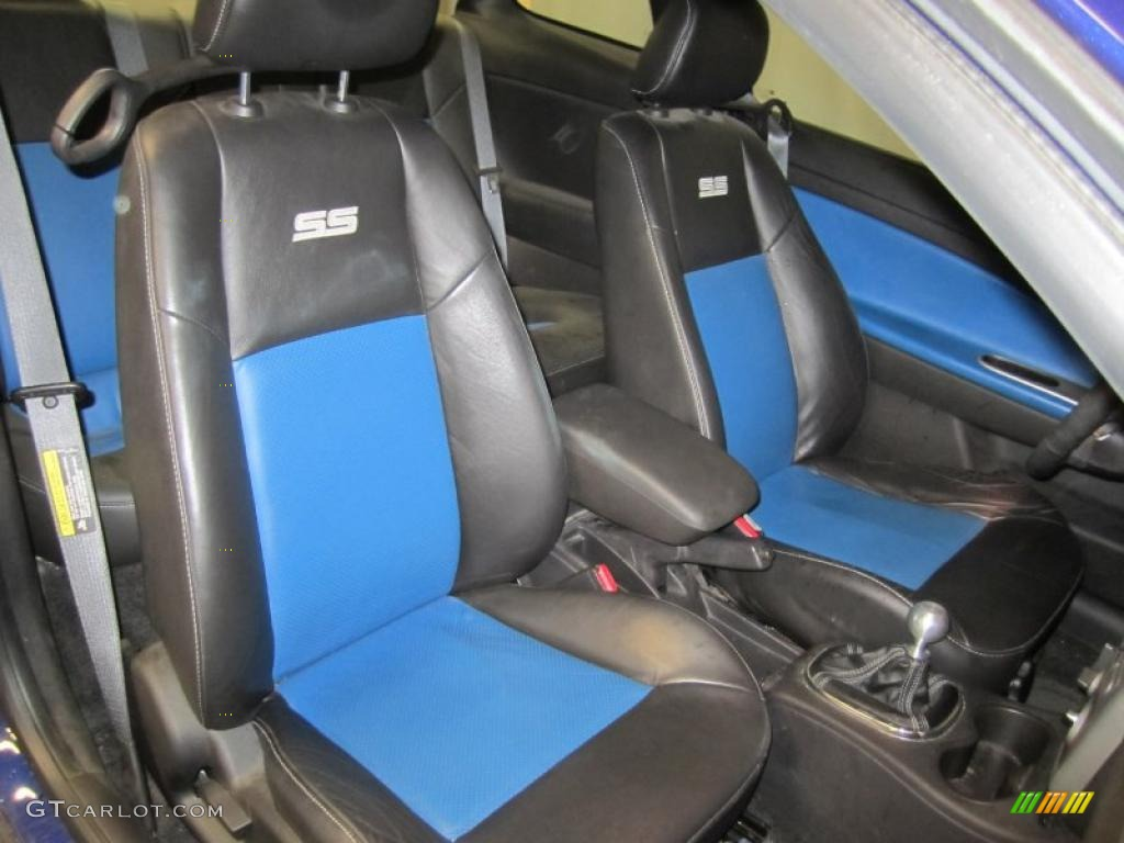 ebony blue interior 2006 chevrolet cobalt ss supercharged. Black Bedroom Furniture Sets. Home Design Ideas