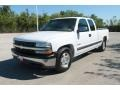2000 Summit White Chevrolet Silverado 1500 LS Extended Cab  photo #8