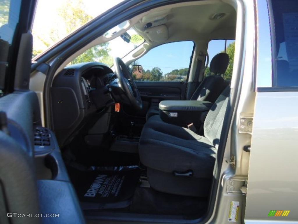 2005 Ram 1500 SLT Quad Cab 4x4 - Light Almond Pearl / Taupe photo #9