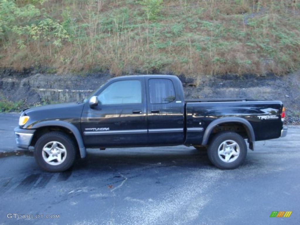 2001 black toyota tundra sr5 trd extended cab 4x4 37532438 car color galleries. Black Bedroom Furniture Sets. Home Design Ideas