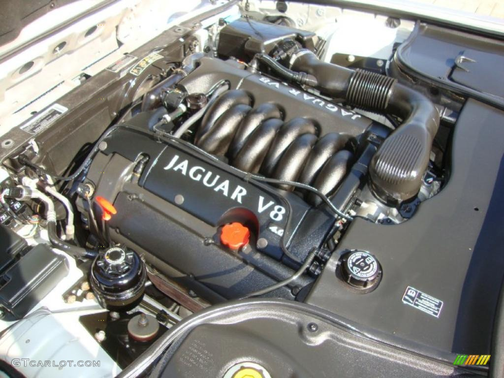 The Jaguar Aj V8 Engine Pictures To Pin On Pinterest The
