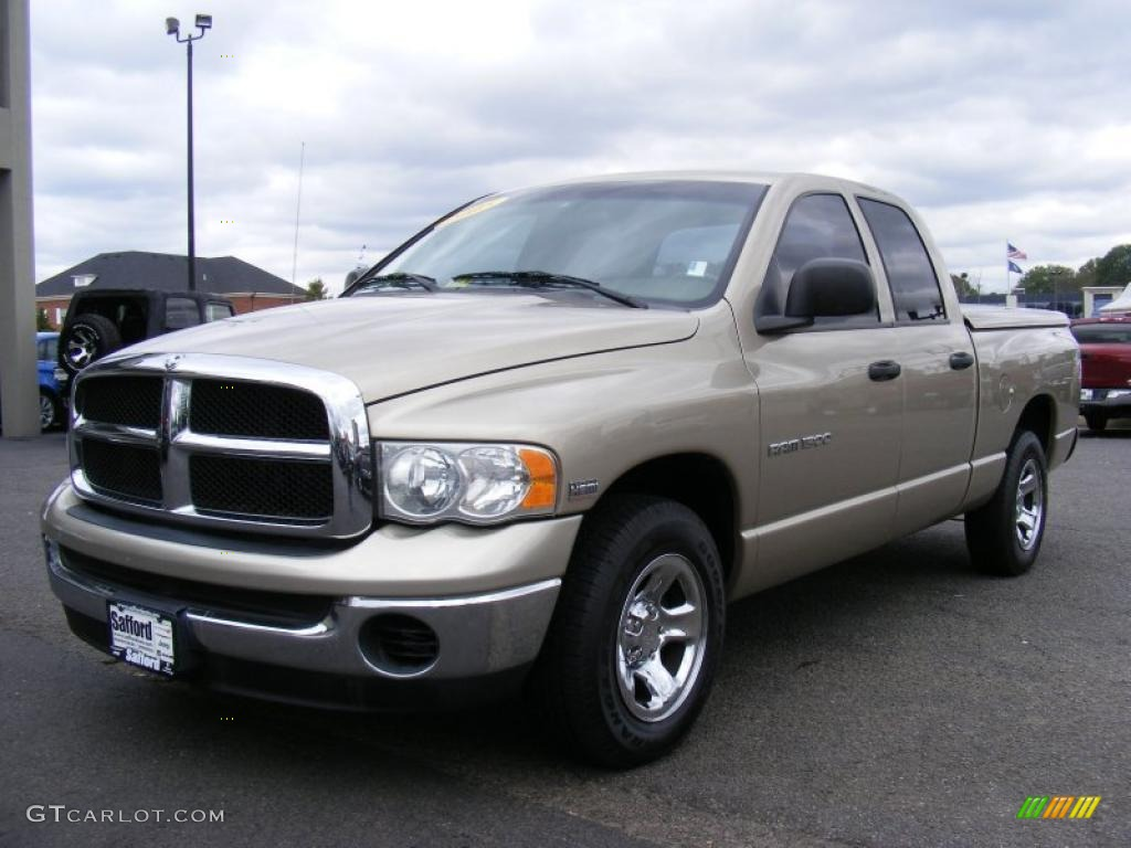 2005 light almond pearl dodge ram 1500 slt quad cab. Black Bedroom Furniture Sets. Home Design Ideas