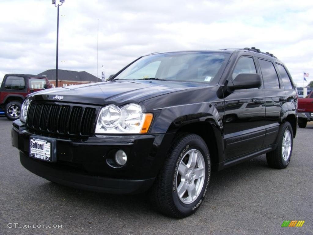 2006 jeep grand cherokee laredo black color medium slate gray. Cars Review. Best American Auto & Cars Review