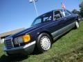 Midnight Blue 1987 Mercedes-Benz S Class Gallery