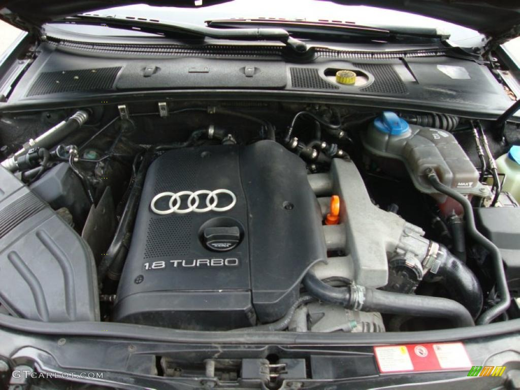 2002 Audi A4 1 8t Sedan 1 8l Turbocharged Dohc 20v 4 Cylinder Engine Photo  37600671