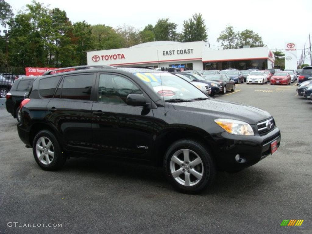 2007 black toyota rav4 limited 4wd 37584717 gtcarlot. Black Bedroom Furniture Sets. Home Design Ideas