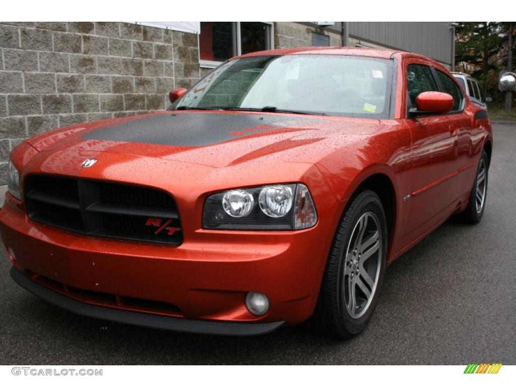 All Types 2006 charger daytona : 2006 Go Mango! Orange Dodge Charger R/T Daytona #37585249 ...