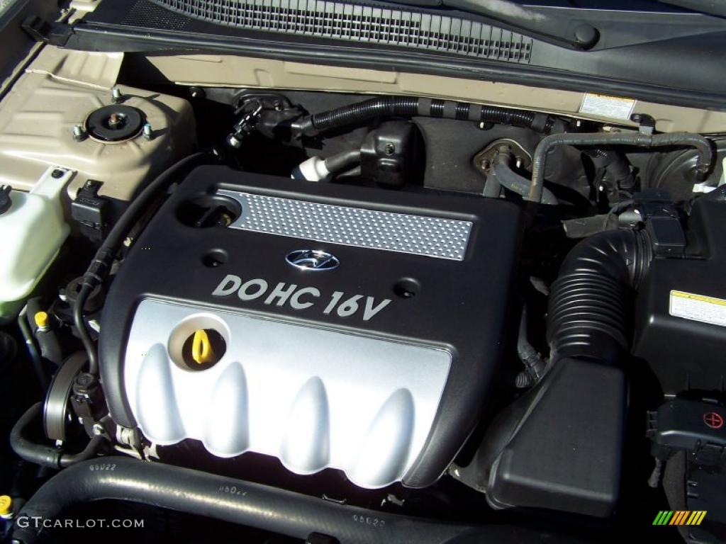 2006 Hyundai Sonata Gl 2 4 Liter Dohc 16v Vvt 4 Cylinder