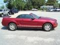 2007 Redfire Metallic Ford Mustang V6 Deluxe Convertible  photo #4