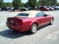 2007 Redfire Metallic Ford Mustang V6 Deluxe Convertible  photo #5