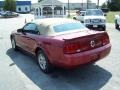 2007 Redfire Metallic Ford Mustang V6 Deluxe Convertible  photo #7
