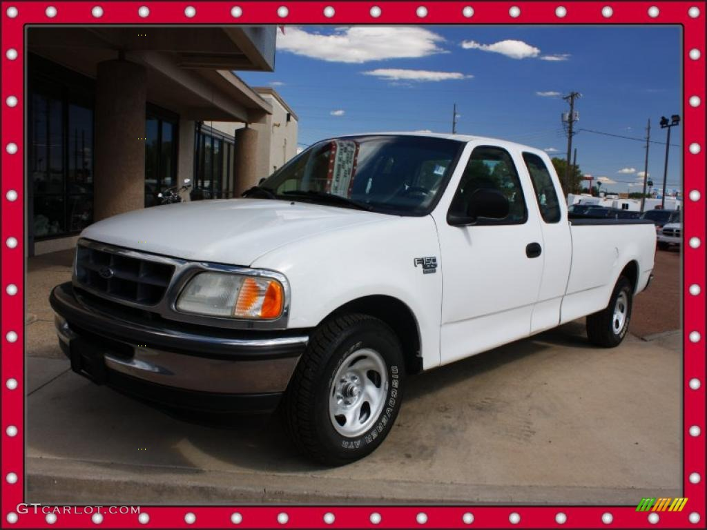 1998 oxford white ford f150 xl supercab 37637874 car color galleries. Black Bedroom Furniture Sets. Home Design Ideas