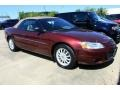 2002 Dark Garnet Red Pearl Chrysler Sebring LXi Convertible  photo #1