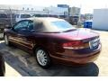 2002 Dark Garnet Red Pearl Chrysler Sebring LXi Convertible  photo #5