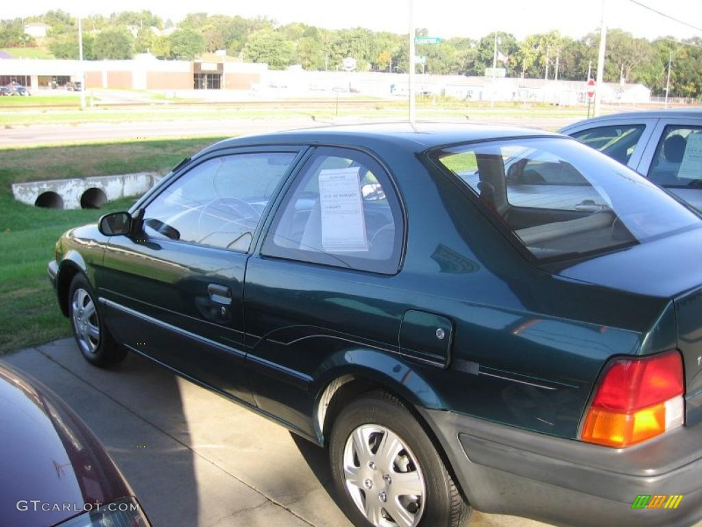 1996 dark green toyota tercel coupe 37638316 photo 2 gtcarlot com car color galleries gtcarlot com