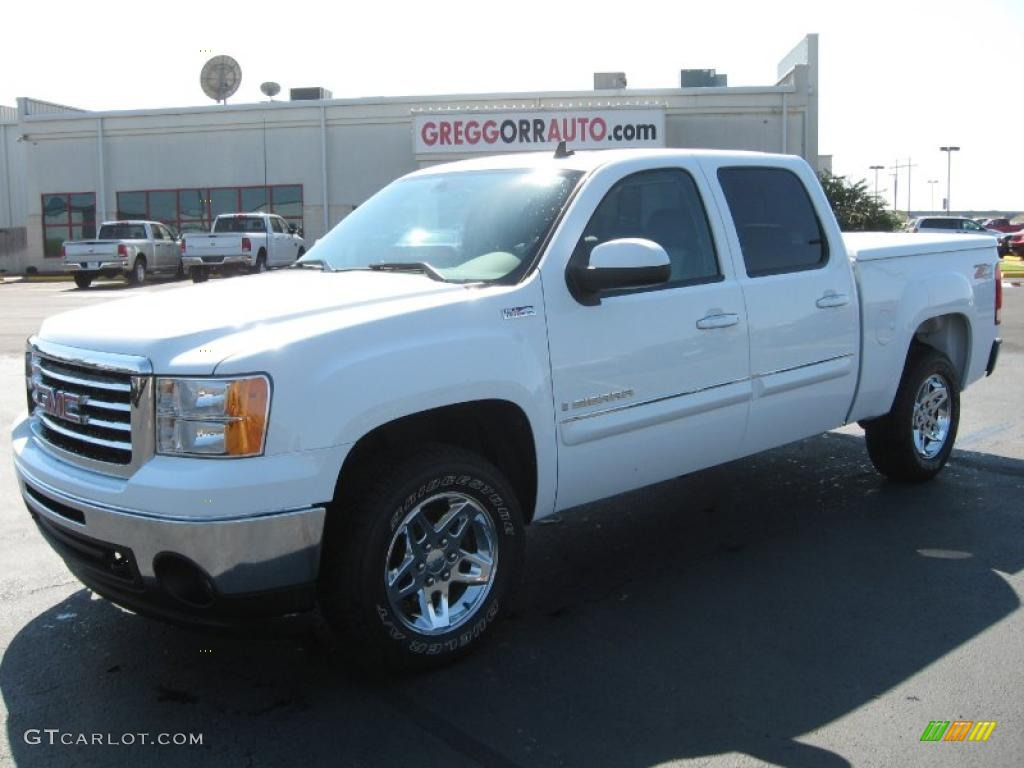 Summit White Gmc Sierra 1500