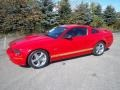 2007 Torch Red Ford Mustang GT Deluxe Coupe  photo #2