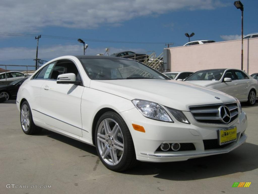 2011 arctic white mercedes benz e 350 coupe 37699341. Black Bedroom Furniture Sets. Home Design Ideas