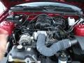 2007 Redfire Metallic Ford Mustang V6 Deluxe Convertible  photo #30