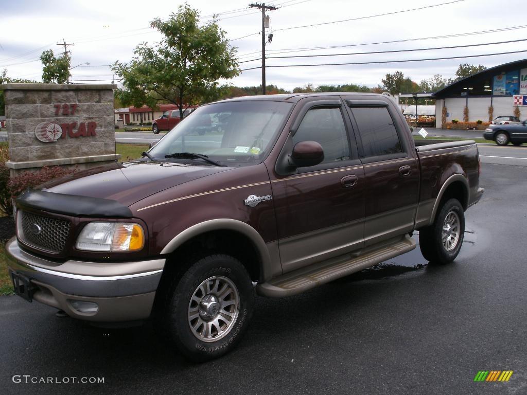 2002 chestnut metallic ford f150 king ranch supercrew 4x4 37699573 car color. Black Bedroom Furniture Sets. Home Design Ideas