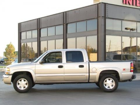 2006 gmc sierra 1500 slt z71 crew cab 4x4 data info and. Black Bedroom Furniture Sets. Home Design Ideas