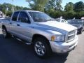 2002 Bright Silver Metallic Dodge Ram 1500 Sport Quad Cab 4x4  photo #7