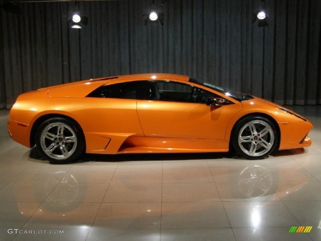Arancio Atlas Pearl Orange 2008 Lamborghini Murcielago