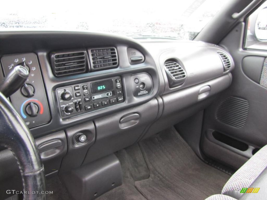 Gray Interior 1998 Dodge Ram 1500 Laramie Slt Regular Cab Photo 37787724