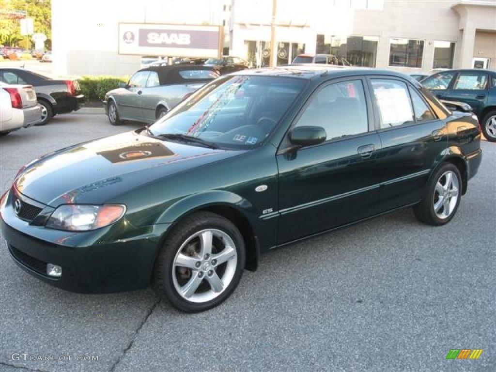 Emerald Mica 2003 Mazda Protege ES Exterior Photo #37793964 | GTCarLot.com