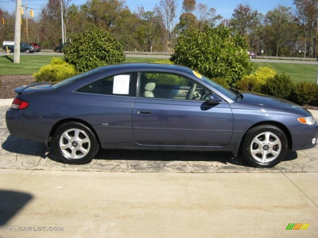 2000 twilight blue pearl toyota solara sle v6 coupe. Black Bedroom Furniture Sets. Home Design Ideas