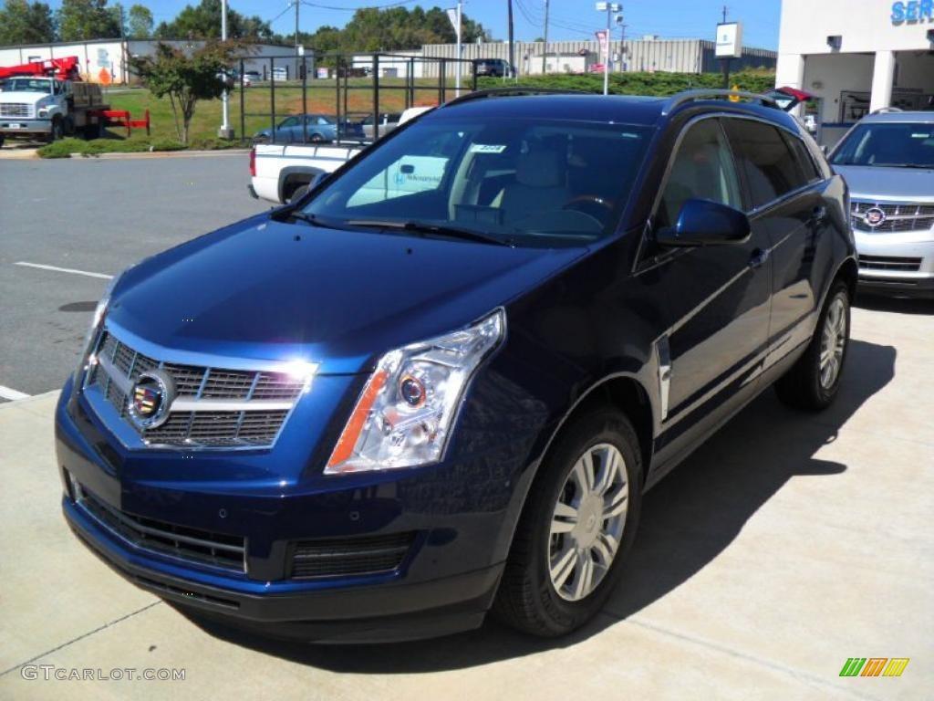2011 Imperial Blue Metallic Cadillac Srx Fwd 37777642