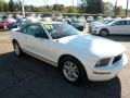 2007 Performance White Ford Mustang V6 Premium Convertible  photo #6