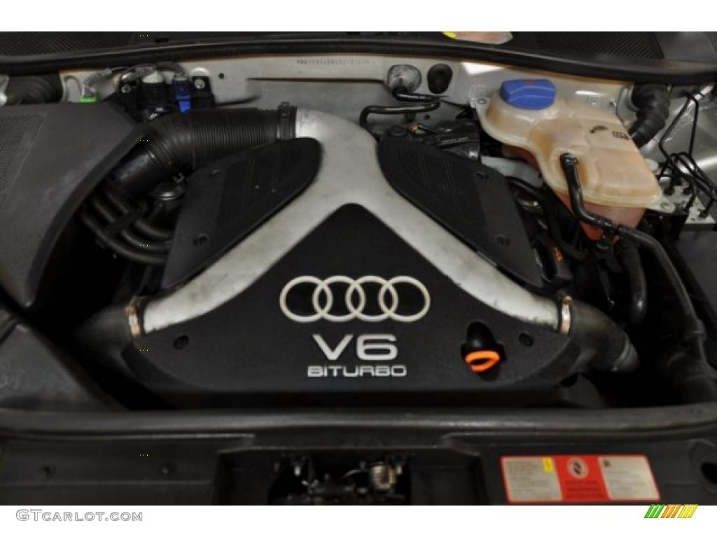 2004 Audi Allroad 2 7t Quattro Avant 7 Liter Twin Turbocharged Dohc 30 Valve