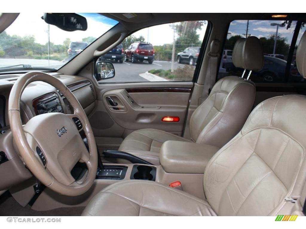 sandstone interior 2002 jeep grand cherokee limited 4x4 photo 37849051 gtcarlot com gtcarlot com