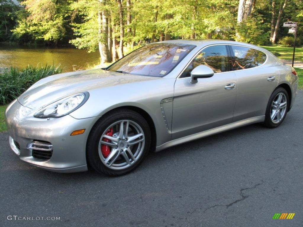 2010 Platinum Silver Metallic Porsche Panamera Turbo