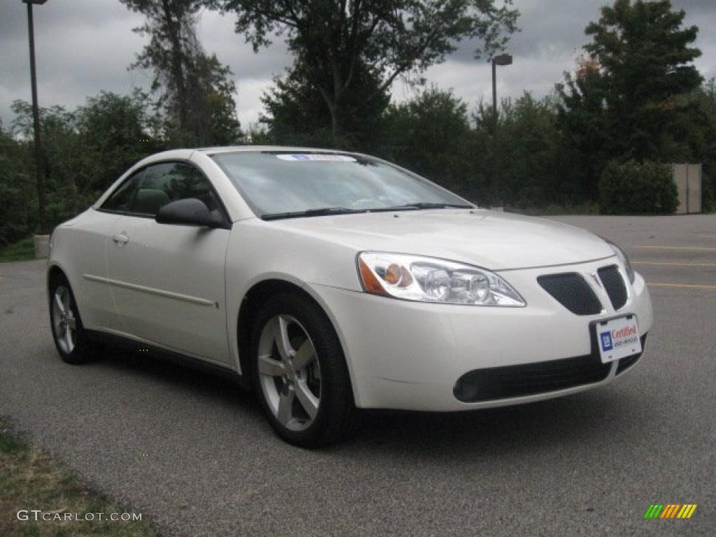 ivory white 2006 pontiac g6 gtp convertible exterior photo. Black Bedroom Furniture Sets. Home Design Ideas