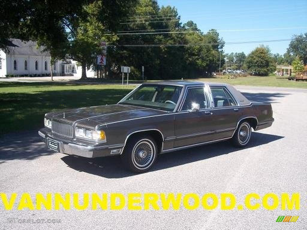 1989 Graphite Metallic Mercury Grand Marquis Ls 37776859